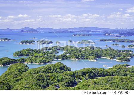 美麗的Kujukushima島在長崎 44959902