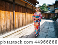 tourist visiting the old city in Japan 44966868