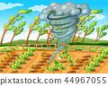 Tornado in farm scene 44967055