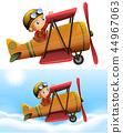 classic, pilot, plane 44967063