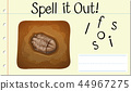 Spell it out fossil 44967275