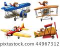 classic plane vector 44967312