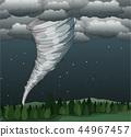 龍捲風 向量 向量圖 44967457