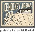 冰球 曲棍球 竞技场 44967458