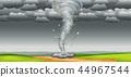 A tornado in nature 44967544