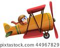 aircraft, vector, plane 44967829