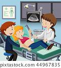 ultrasound, doctor, couple 44967835