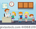children sick doctor 44968109