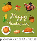 template, vector, thanksgiving 44968138