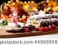 蛋糕 巧克力 圣诞节 44969938