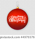 christmas, red, ornament 44970376