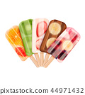 fruity, popsicle, icecream 44971432