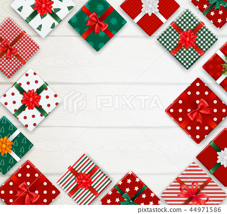 Realistic Christmas Background 44971586