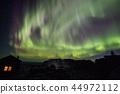 핀란드 오로라와 산장 44972112