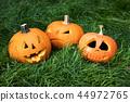 halloween carved pumpkins, jack-o-lantern 44972765