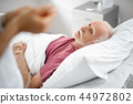 patient, man, bed 44972802