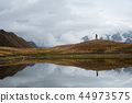 lake, mountains, landscape 44973575
