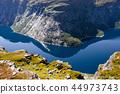 Ringedalsvatnet - blue lake of Norway 44973743