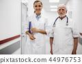 doctor nurse clipboard 44976753