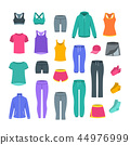 Women casual clothes for gym fitness training 44976999