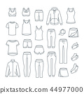 clothes outline icon 44977000