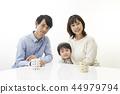 ครอบครัว,ภาพวาดมือ ครอบครัว,เด็ก 44979794