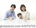 ครอบครัว,ภาพวาดมือ ครอบครัว,เด็ก 44979795