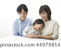 ครอบครัว,ภาพวาดมือ ครอบครัว,เด็ก 44979854