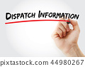 DI - Dispatch Information acronym 44980267