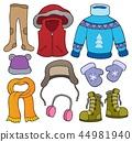 Winter clothes topic set 2 44981940