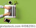 laptop,mobile,desk 44982061