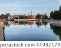 Odra river in Wroclaw, Poland 44982179