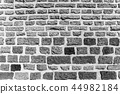 texture of a black and white brick background 44982184