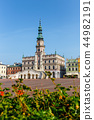 View of Great Market Square in Zamosc, Poland 44982191