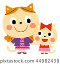 Cat's parent and child 44982439
