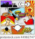 template, cartoon, comic 44982747