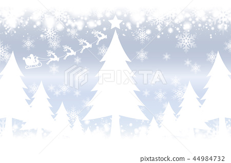 White Christmas Snow Background.Background Illustration Material White Stock