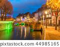 Christmas Little Venice in Colmar, Alsace, France 44985165