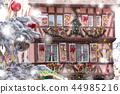 Christmas house in Colmar, France 44985216