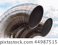 Stainless steel pipes. Air exchange ducts 44987515