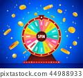 vector, gambling, casino 44988933