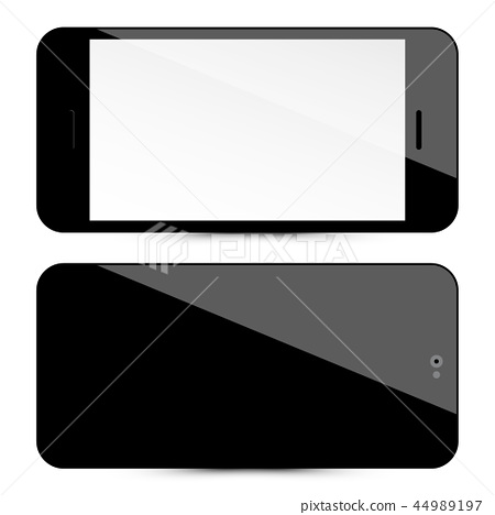 Cellphone Front and Back.  44989197