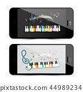 music, piano, keyboard 44989234