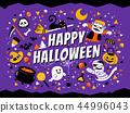 Happy halloween poster 44996043