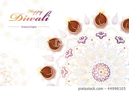 Diwali festival design 44996105