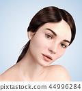 浅黑色 模型 模特 44996284