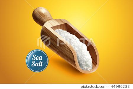 A scoop of sea salt 44996288
