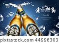 啤酒 饮料 玻璃瓶 44996303