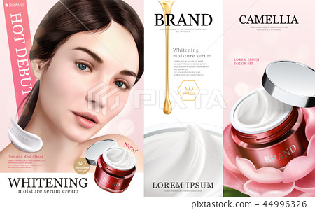 Whitening moisture ads 44996326