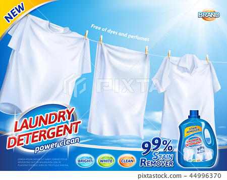 Laundry detergent ads - Stock Illustration [44996370] - PIXTA